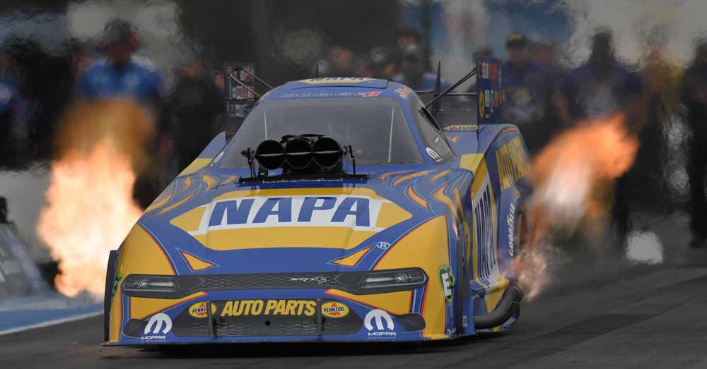 Ron Capps NAPA AUTO PARTS NHRA New England Nats 2021