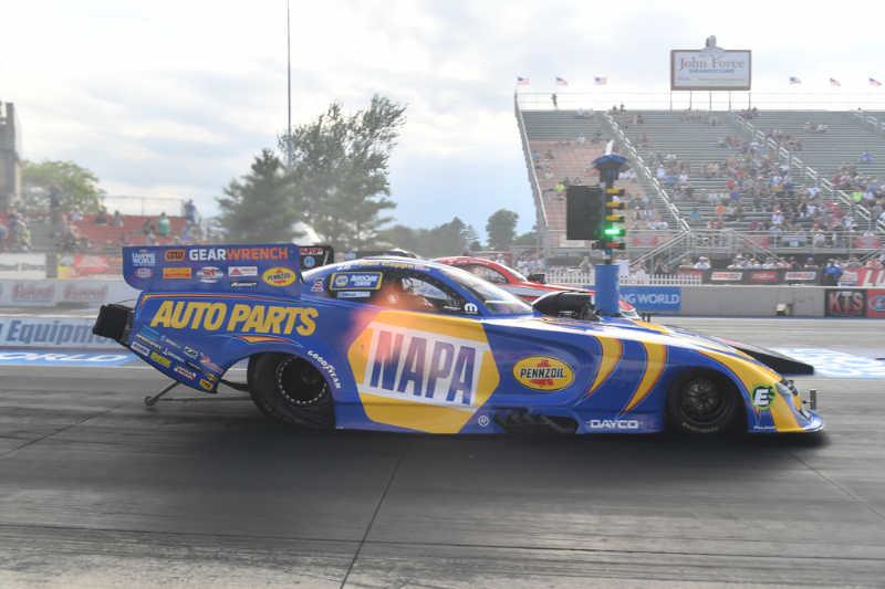 Ron Capps NAPA AUTO PARTS funny car Norwalk Nationals 2021