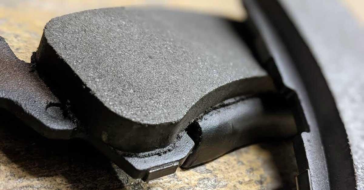 Brake pads.