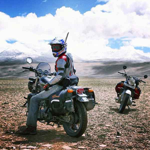 A motorcycle road trip.