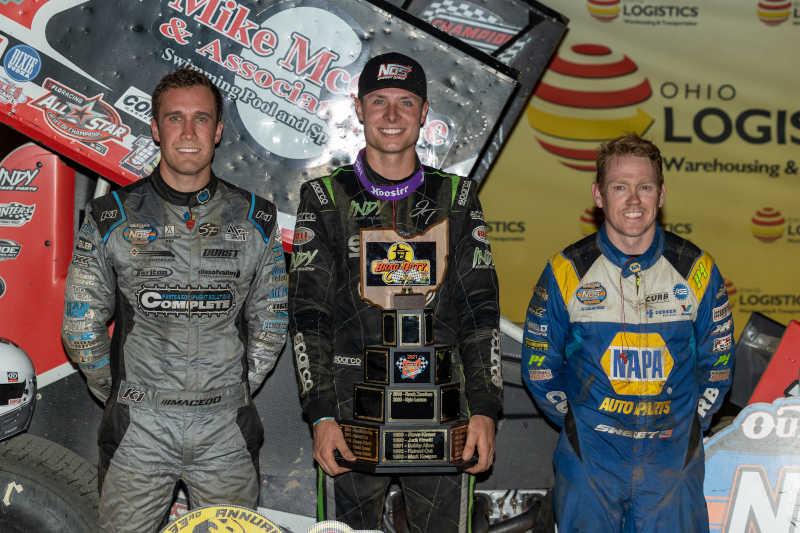 Brad Sweet NAPA AUTO PARTS 49 Attica 2021 KKR podium