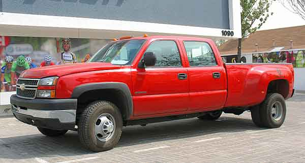 How to rotate tires on a dually