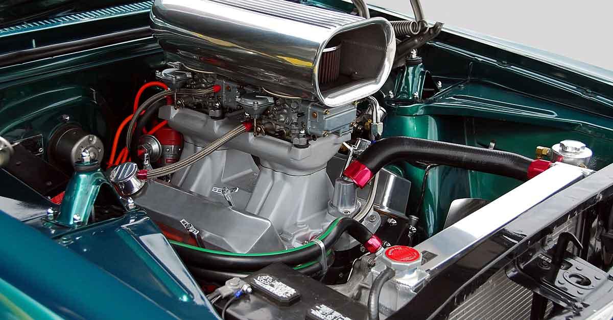 A performance V8 engine