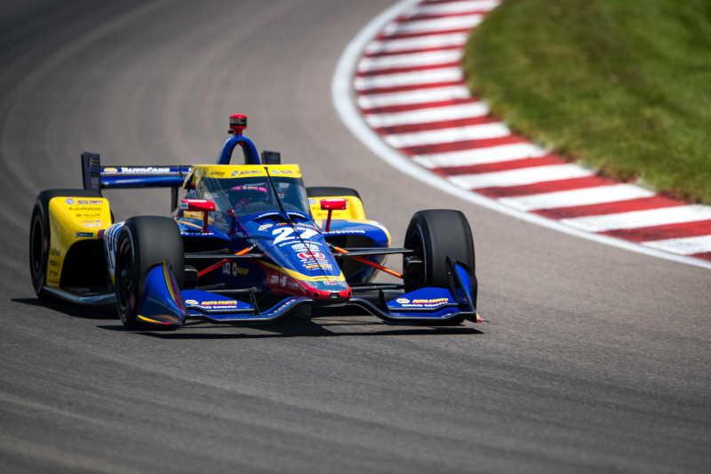 Alexander Rossi NAPA AUTO PARTS Gateway 2021 IndyCar 27