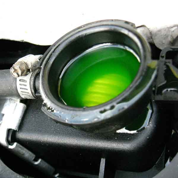 Antifreeze and engine coolant are similar, but they are not the same.