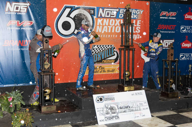 Brad Sweet 2021 Knoxville Nationals NAPA AUTO PARTS 49