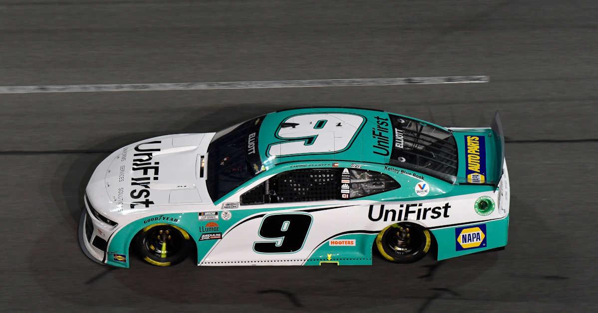 #9: Chase Elliott, Hendrick Motorsports, Chevrolet Camaro UniFirst