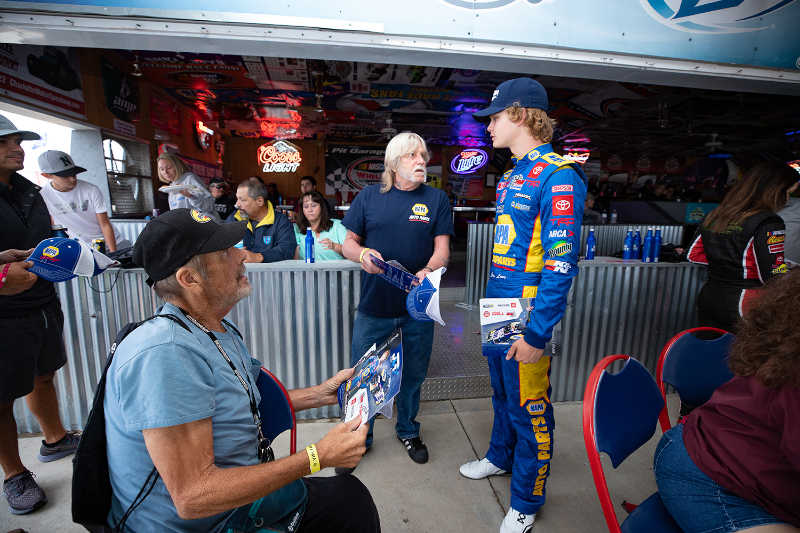 Jesse Love NAPA AUTO PARTS 16 runner-up Colorado 2021 ARCA West