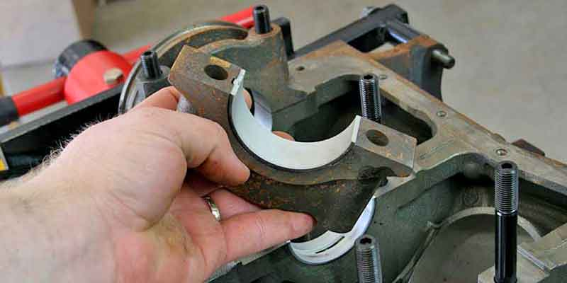engine main bearing