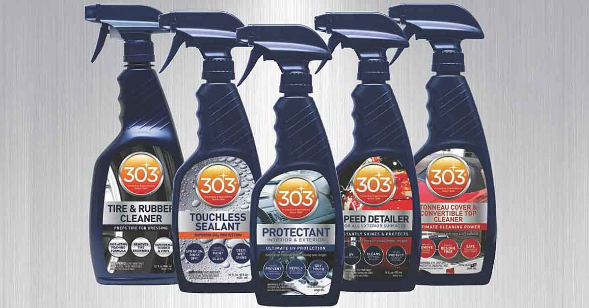 303 spray bottles