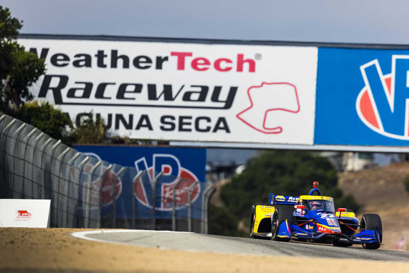 Alexander Rossi NAPA AUTO PARTS 27 IndyCar Laguna Seca