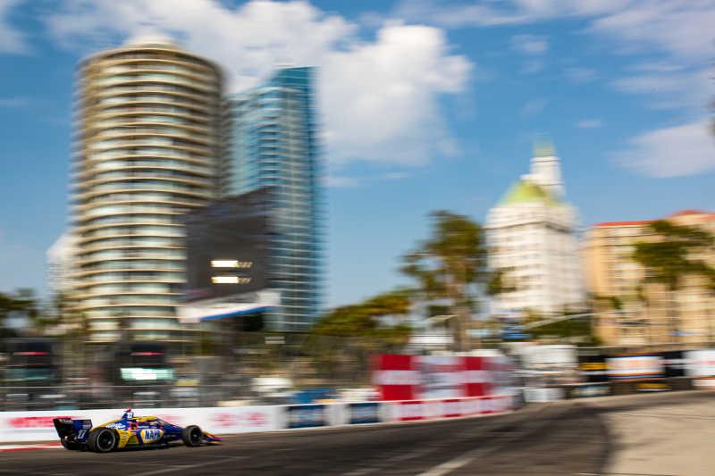 Alexander Rossi NAPA AUTO PARTS 27 Long Beach 2021