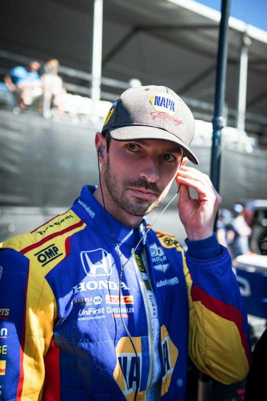 Alexander Rossi Portland GP 2021 NAPA AUTO PARTS 27
