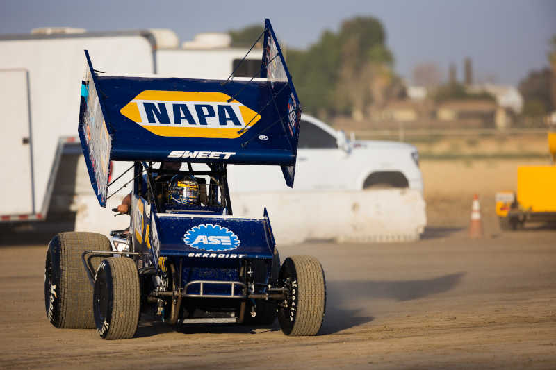 Brad Sweet Keller 2021 NAPA AUTO PARTS 49