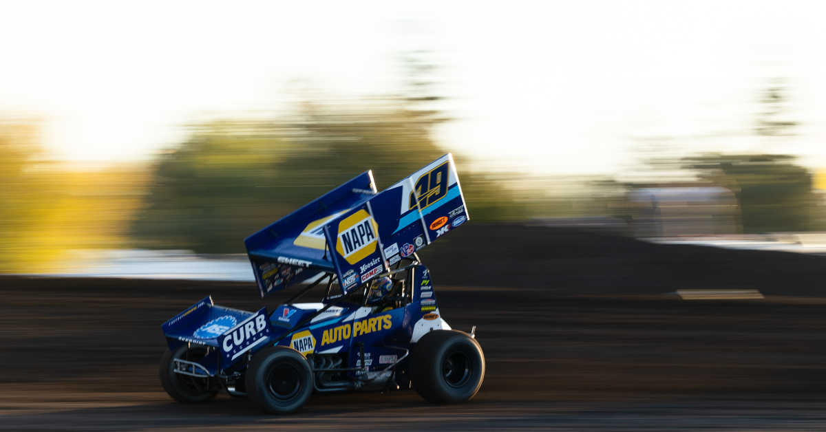 Brad Sweet NAPA AUTO PARTS 49 Silver Dollar Speedway 2021